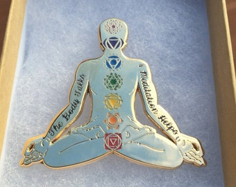 Nahko & Medicine For The People Chakra Meditation Pin