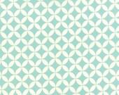 Cotton Quilt Fabric by the yard, Hello Darling Orange Peel Aqua by Bonnie & Camille for Moda Fabrics, 55111 22
