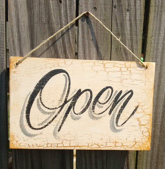 Open Closed Sign Business Sign Open Sign Kitchen By