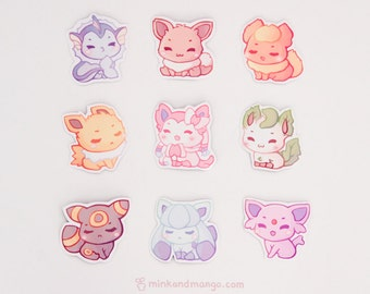 Eeveelution Magnets