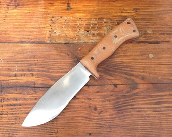 Falcon Hunting Knife - Handmade Custom Knife by Knifemaker Dan Freda
