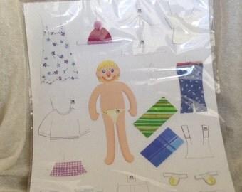 Unused Kt Toon Paper Doll