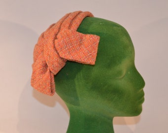 Vintage Estate James Shop Multi Color Fascinator Half Hat