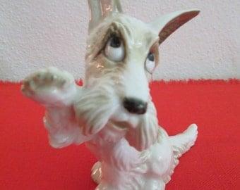 Vintage Hutschenreuther Porcelain Terrier Dog Figurine