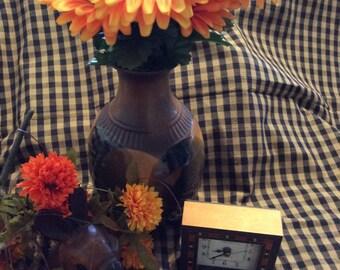 Vintage Pottery Vase/Vintage Vase/Home Decor/Vintage Home Decor/Vintage Handmade/Vintage Pottery