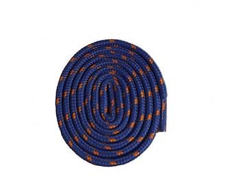 Blue and Orange Shoelaces