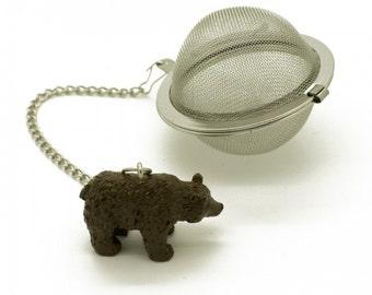 Darling Bear Tea Strainer | Infuser | Loose Leaf Tea  | Winterwoods Tea Company | Tea Ball