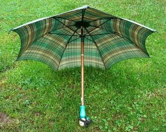 Vintage Petite  Folding Umbrella Parasol