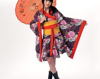 Kimono Top, Skirt, Obi and Belt McCall's Pattern M7270