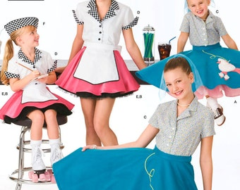 Simplicity Sewing Pattern 3836 Child & Girl Costumes