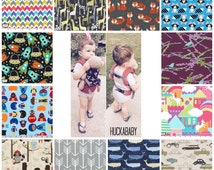 CUSTOM Baby Doll Carrier - Mini Tula - Mini Kinderpack - Toddler/Small Child Doll Carrier - You pick fabric!