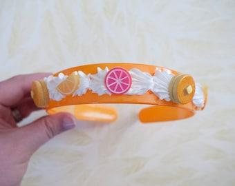 Breakfast Decoden Headband - Kawaii Headband for Decora Kei