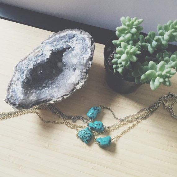 Petite Turquoise Necklace