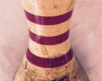 Vintage 1930's Wooden Bowling Pin