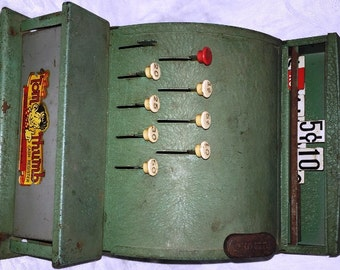 Vintage Western Stamping Company Tom Thumb Toy Cash Register 1930's G.C.