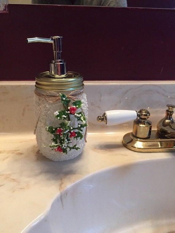 Snowy White Soap Dispenser