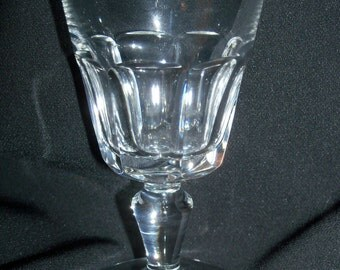 "REDUCED: Vintage Baccarat Cut Crystal Bretagne Sherry Cordial Liquor Glass  4-1/4"" high"