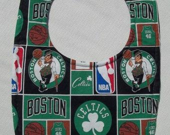 Boston Celtics Baby Bib
