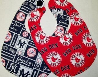 Red Sox / Yankees Reversible Bib
