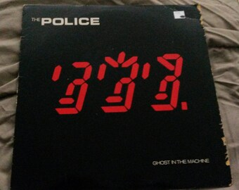 The Police - Ghost in the Machine - LP Vinyl Record