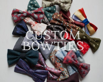 Customized Bow Ties