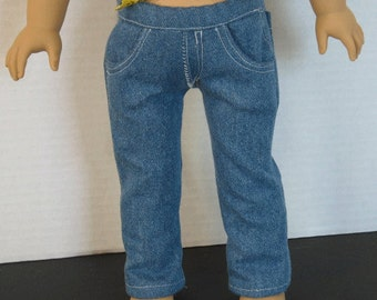 "Denim Jeans for 18""  doll such as American Girl"