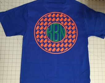 Florida Gators Monogram T-shirt - University of Florida Fan shirt