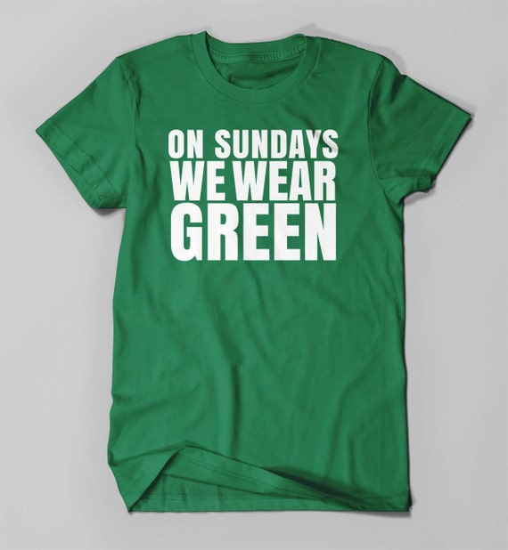 Eagles on sundays we wear green eagles tee eagles by wearpurdy for Eagles football t shirts