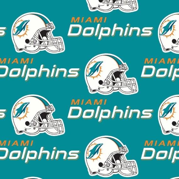Curtains Ideas curtain rod ring clips : NFL Football Miami Dolphins Window curtain by craftnmycreations