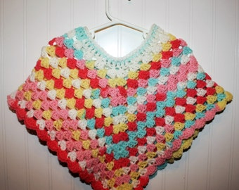 Toddler Girl Poncho