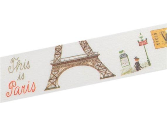 Mt x miroslav a ek this is paris artist washi masking tape - Boutique masking tape paris ...