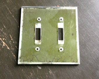 Vintage Mirror Switch Plate Cover