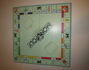 Vintage Monopoly Board Game - Parker Brothers - 1985 - board, pieces, dice, cards, box