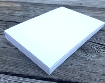 5x7 cardstock etsy 50 blank white or ivory cards 5x7 100lb diy invitations laser and inkjet printing cardstock stopboris Gallery