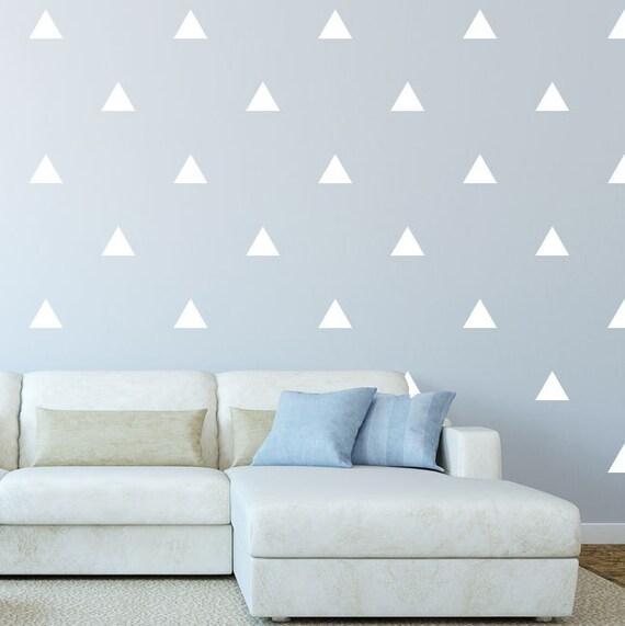 Driehoek Decals voor behang woonkamer Decor deur Stickers