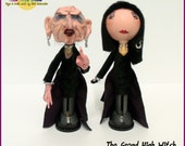 The Grand High Witch - Roald Dahl the Witches Peg dolls (set of 2)