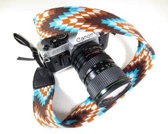Southwestern Camera Strap - DSLR / SLR - 1.5 Inches Wide