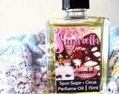 Perfume Oil, Sugarella Spun Sugar and Citrus Perfume 15ml .5 oz., alcohol-free