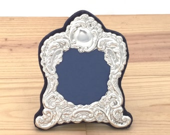 Silver Photo Frame, Hallmarked Silver Picture Frame, Victorian Style - No. 48