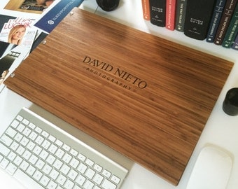 LASER ENGRAVING Customized Screw Post Portfolio Business portfolio folio (this is for engraving services only – Does Not Include Portfolio)