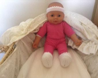 Baby Headband, Crochet Headband, Newborn Headband, Gift for new baby, New Mum gift, Baby Shower Gift, Baby Accessory