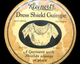 1920s Advertising Kleinert's Dress Shields Mirror