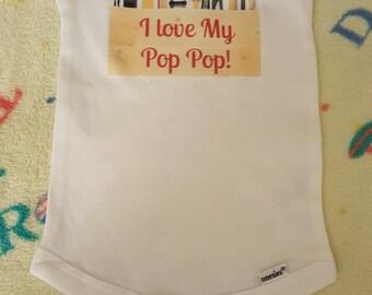 Pop Pop Onesie