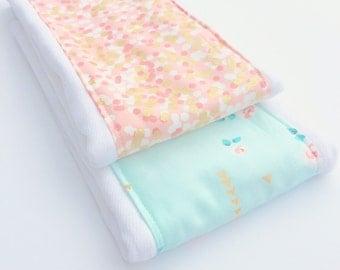 New Glitz Collection Baby Burping Cloths