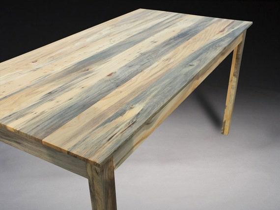 kitchen table beetle kill pine custom furniture