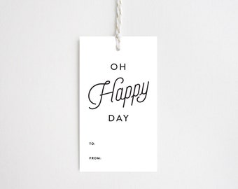 Gift Tags - Oh Happy Day