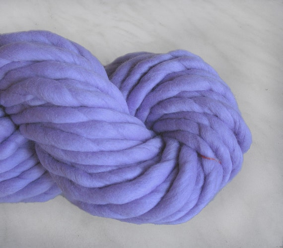 Super bulky yarn, chunky yarn ATLAS lavender, 16oz, super thick yarn ...