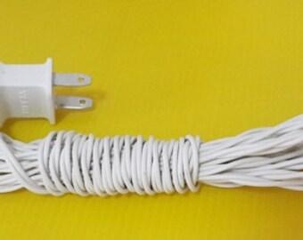 20 bulbs string light + adapter plug us, eu, uk, au for cotton ball DIY craft voltage 110V ~ 240V