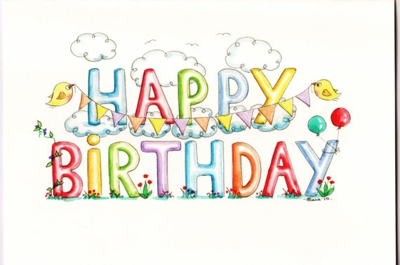 Doc33002550 Downloadable Birthday Card Free Downloadable – Downloadable Birthday Cards