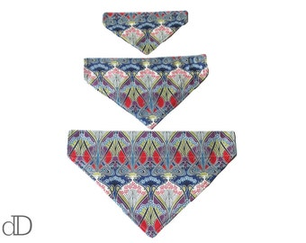 Dog Bandana (SML) in Ianthe Liberty print